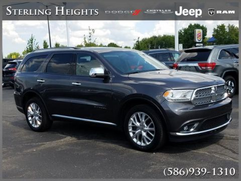 Certified Pre-Owned 2015 Dodge Durango AWD 4dr Citadel