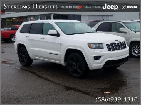 Certified Pre-Owned 2015 Jeep Grand Cherokee 4WD 4dr Altitude