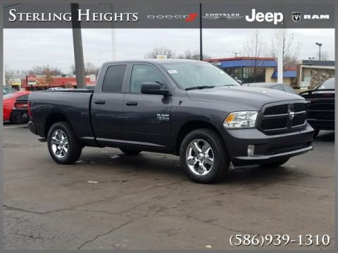 "Pre-Owned 2018 Ram 1500 Express 4x4 Quad Cab 6'4"" Box"