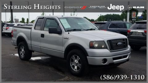 "Pre-Owned 2007 Ford F-150 4WD Supercab 145"" FX4"
