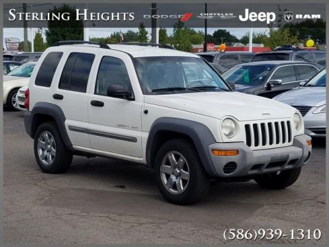 Pre-Owned 2002 Jeep Liberty 4dr Sport 4WD