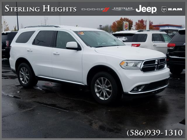 Certified Pre-Owned 2016 Dodge Durango AWD 4dr SXT