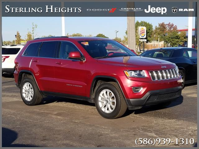 Certified Pre-Owned 2015 Jeep Grand Cherokee 4WD 4dr Laredo