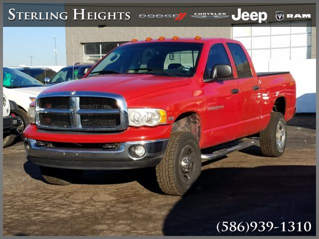 Pre-Owned 2005 Dodge Ram 2500 4dr Quad Cab 140.5